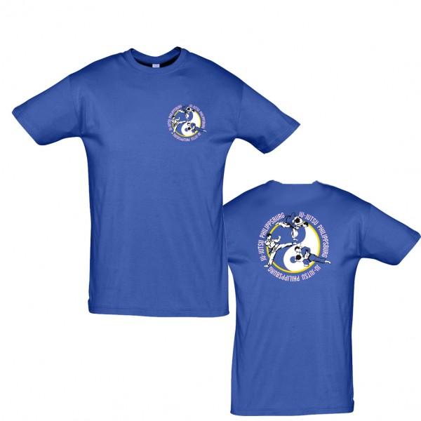 T-Shirt L190 royal - Ju-Jutsu Philippsburg
