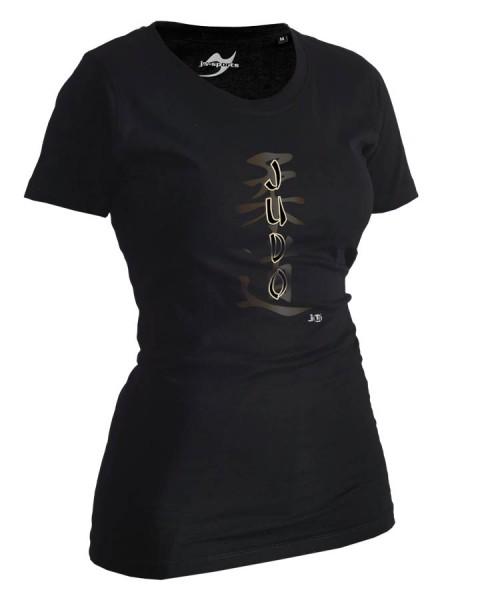 Judo-Shirt Classic schwarz Lady