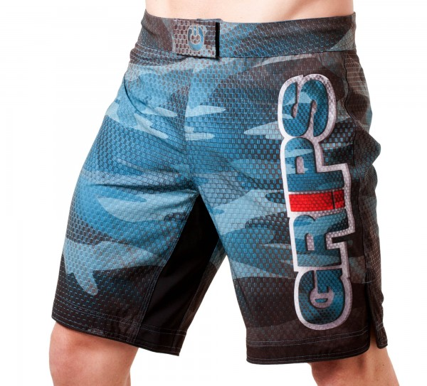 GR1PS Fight Shorts Carbon Army, black