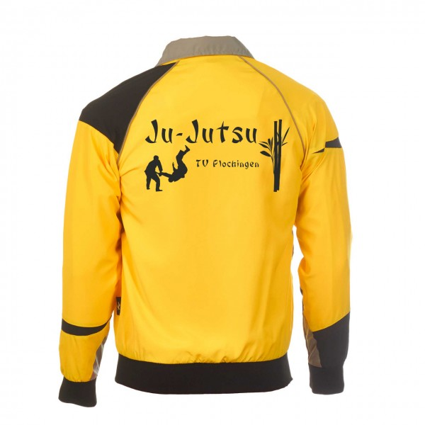 Teamwear Element C1 Jacke gelb, TV Plochingen Ju-Jutsu