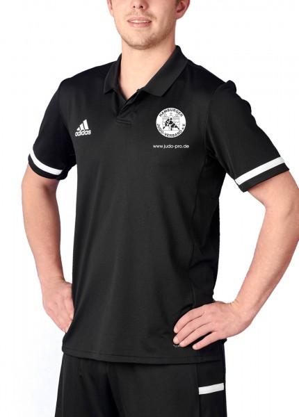 HJV adidas T19 Polo Shirt Herren schwarz/weiß, DW6888