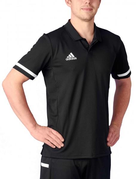 adidas T19 Polo Shirt Männer schwarz/weiß, DW6888