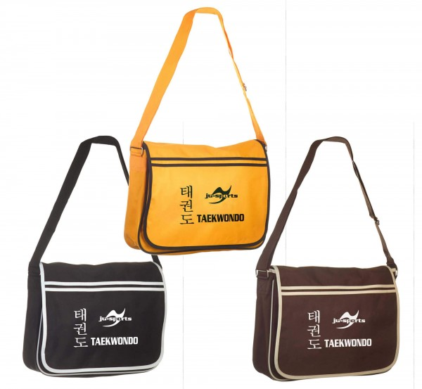 Messenger Bag Retro Taekwondo