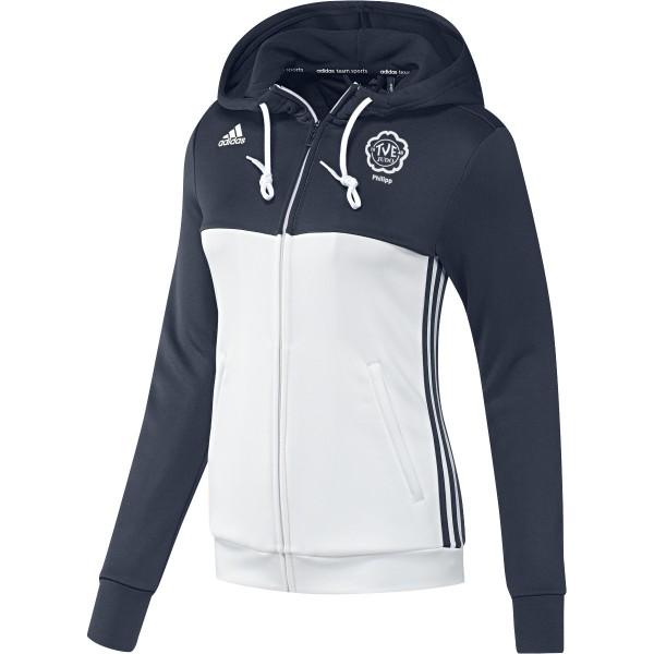 adidas TV Erlangen Judo mit Namensdruck T16 Team Hoodie Damen navy blau /weiß AJ5405