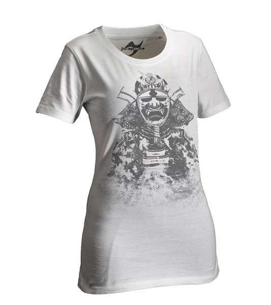 Dark-Line T-Shirt Kabuto weiß Lady