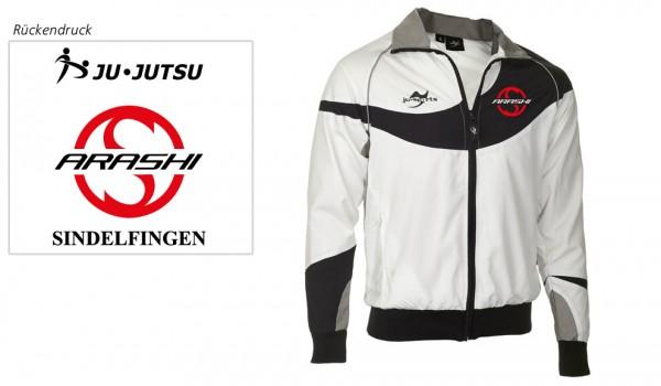 Teamwear Element C1 Jacke weiß Arashi Vereinsedition
