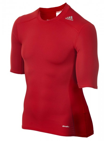 adidas Techfit TF BASE Shortsleeve Power Red, AJ4968