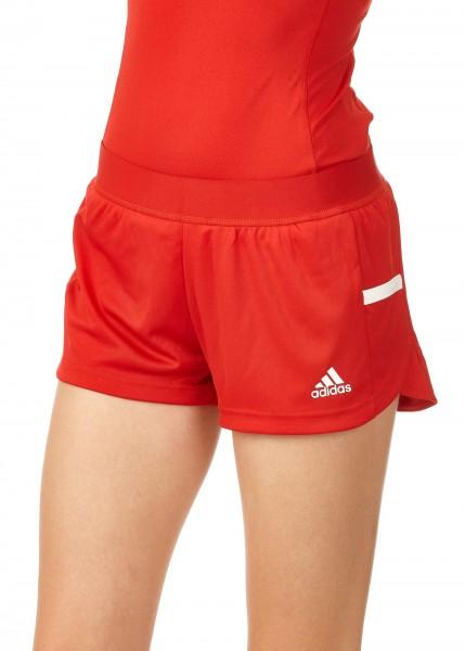 adidas T19 Run Shorts Damen rot/weiß, DX7286