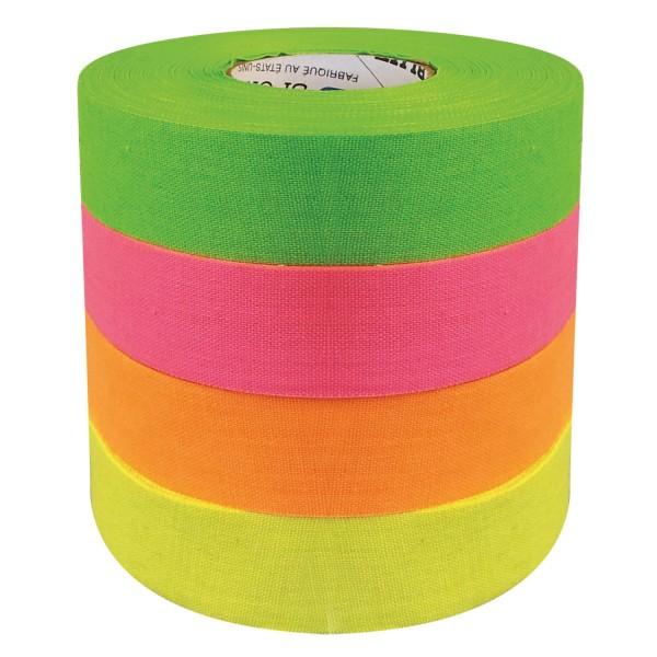 "North American Tape 24 mm/27m - Hockey-Schlägertape ""Neon green"""