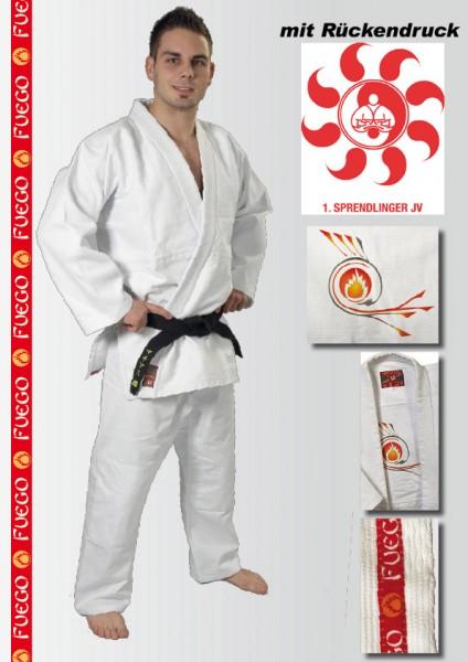 Judoanzug Fuego Vereinskollektion Sprendlinger Judoverein