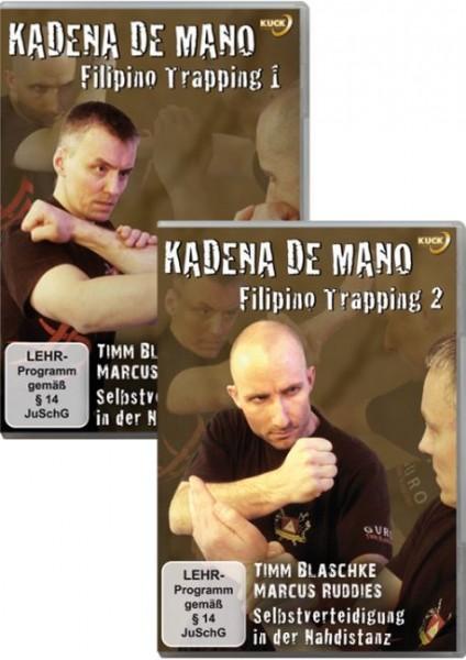DVD Serie Kadena de Mano Filipino Trapping Teil 1 + 2