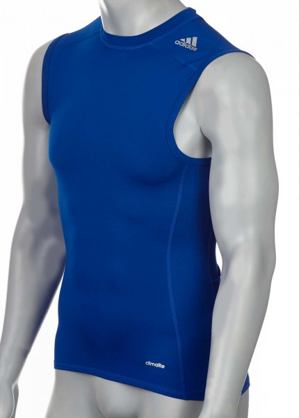 adidas Techfit TF BASE Sleeveless royal blau, AJ4959