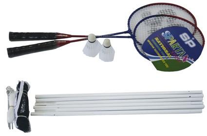 Badminton Set für 2 Spieler mit Netz 5440