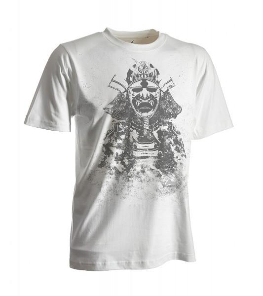 Dark-Line T-Shirt Kabuto weiß