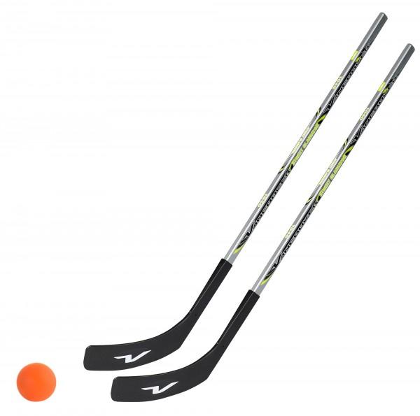 2 x Vancouver Streethockeyschläger 100 cm, Kids plus 1 Hockey-Ball