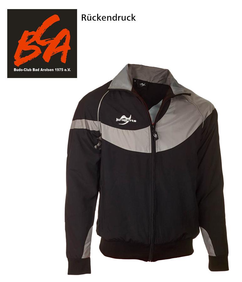 Teamwear Element C1 Jacke schwarz BC Arolsen Vereinsedition