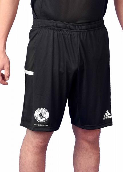 HJV adidas T19 Knee Shorts Männer schwarz/weiß, DW6864