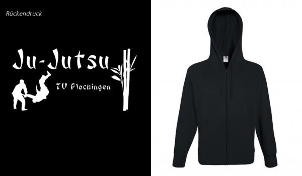 Lightweight Hooded Sweat Jacket, F407, TV Plochingen Ju-Jutsu, schwarz