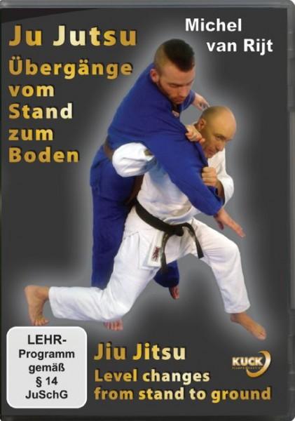 Ju-Jutsu - Übergänge vom Stand zum Boden