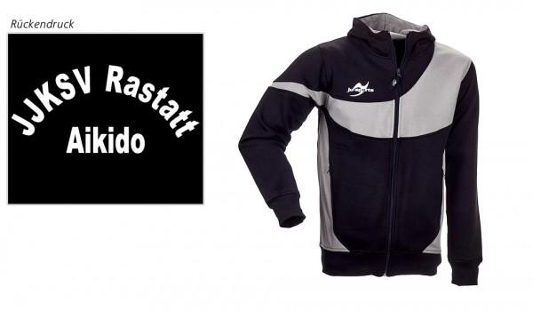 Teamwear Element C1 Zip Hoodie, JJKSV Raststatt, Vereinslogo Aikido