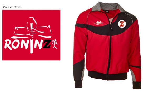 Teamwear Element C1 Jacke rot RoninZ Edition