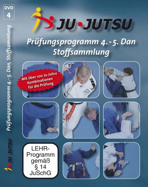 Prüfungsprogramm 4.-5. Dan, Stoffsammlung Ju-Jutsu vom DJJV DVD 4