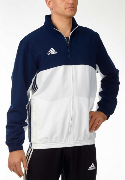 adidas T16 Team Jacket Männer navy blau/weiß, AJ5383