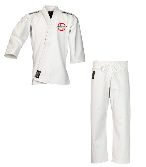 "Ju-Jutsu Anzug ""Tenno Classic"" weiß Arashi Vereinsedition"