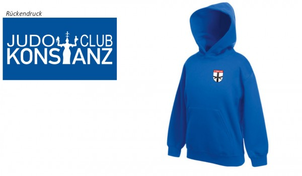 Premium Hooded Sweat Kids JC Konstanz Vereinsedition, Royal Blue, F421K