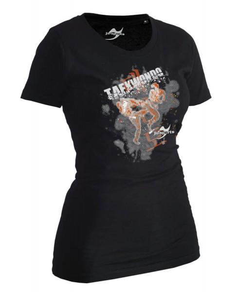 Taekwondo-Shirt Matsogi schwarz Lady