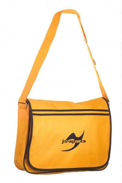 Retro Messenger Bag gold/schwarz