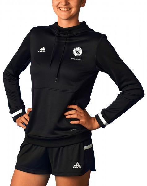 HJV adidas T19 Hoodie Damen schwarz/weiß, DW6872