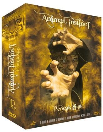 3 DVD Box Pencak Silat Animal Instinct