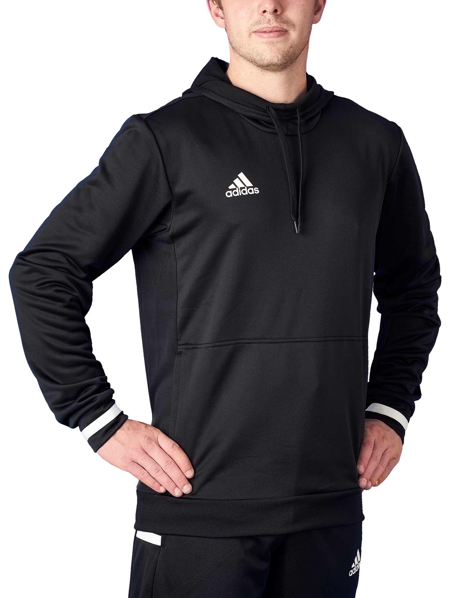 adidas T19 Hoodie Männer schwarzweiß, DW6860