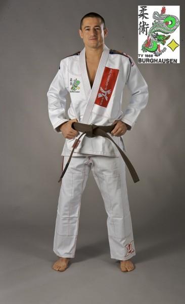 "Brazilian Jiu-Jitsu Anzug ""Pearl white"" TV Burghausen Kollektion"