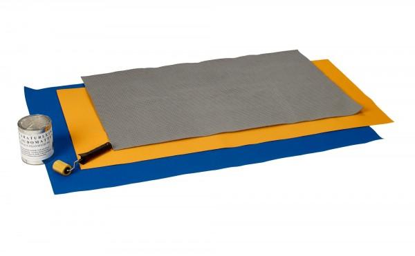 Mattenreparaturset blau/gelb