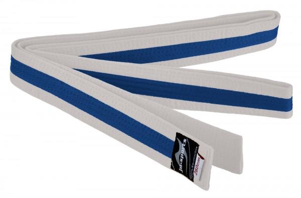 Budogürtel weiß/blau/weiß