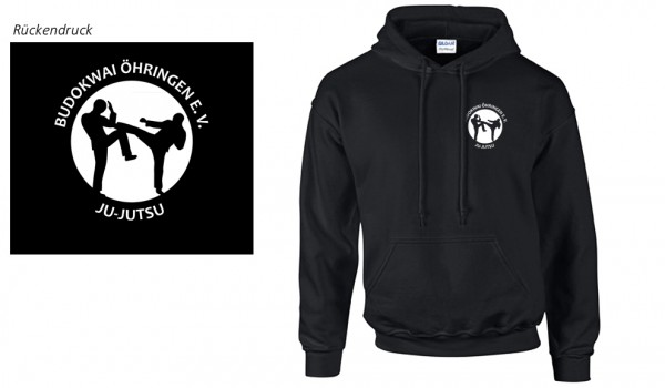 DryBlend Hooded Sweatshirt Budokwai Öhringen Vereinsedition