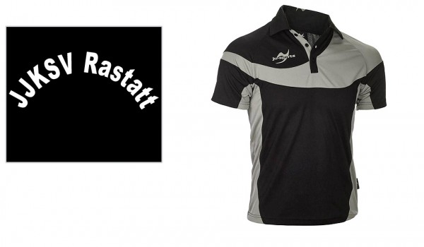 Teamwear Element C1 Polo schwarz, JJKSV Raststatt, Vereinslogo