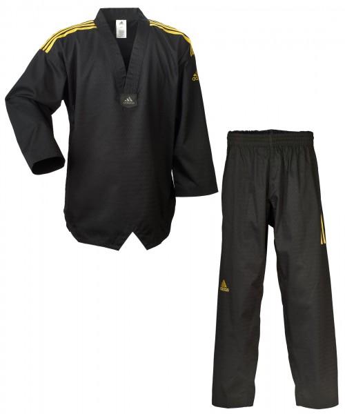 "adidas Taekwondoanzug adi champion ""colour"" schwarz, ADITCC01"