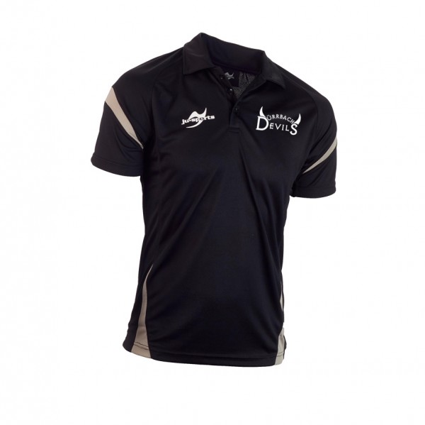 Teamwear Element C2 Polo schwarz - SV Oberdürrbach Kollektion