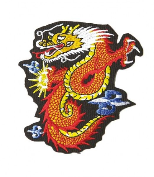 Patch Dragon red