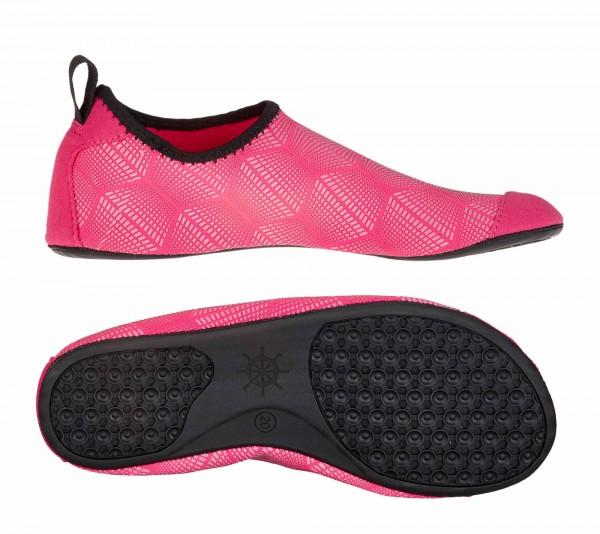 "Actos Bade-Schuhe ""Pride pink"""