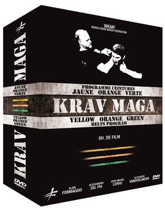 3 DVD Krav Maga - Gelb- bis Grüngurt COF 61