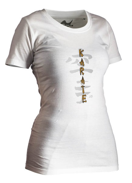 Karate-Shirt Classic weiß Lady