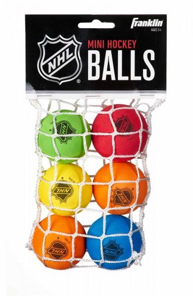 Franklin Schaumstoff Mini-Hockey Bälle, 6er Pack