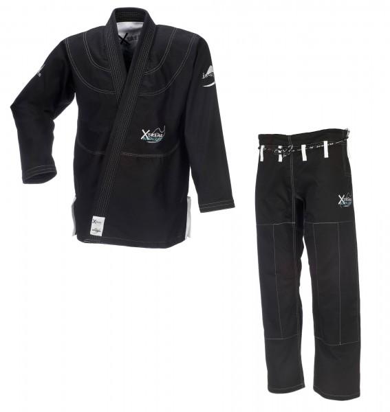 BJJ-Anzug Xtreme Superlight C19 schwarz