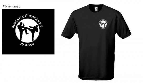 Men´s Basic T-Shirt Imperial Budokwai Öhringen Vereinsedition