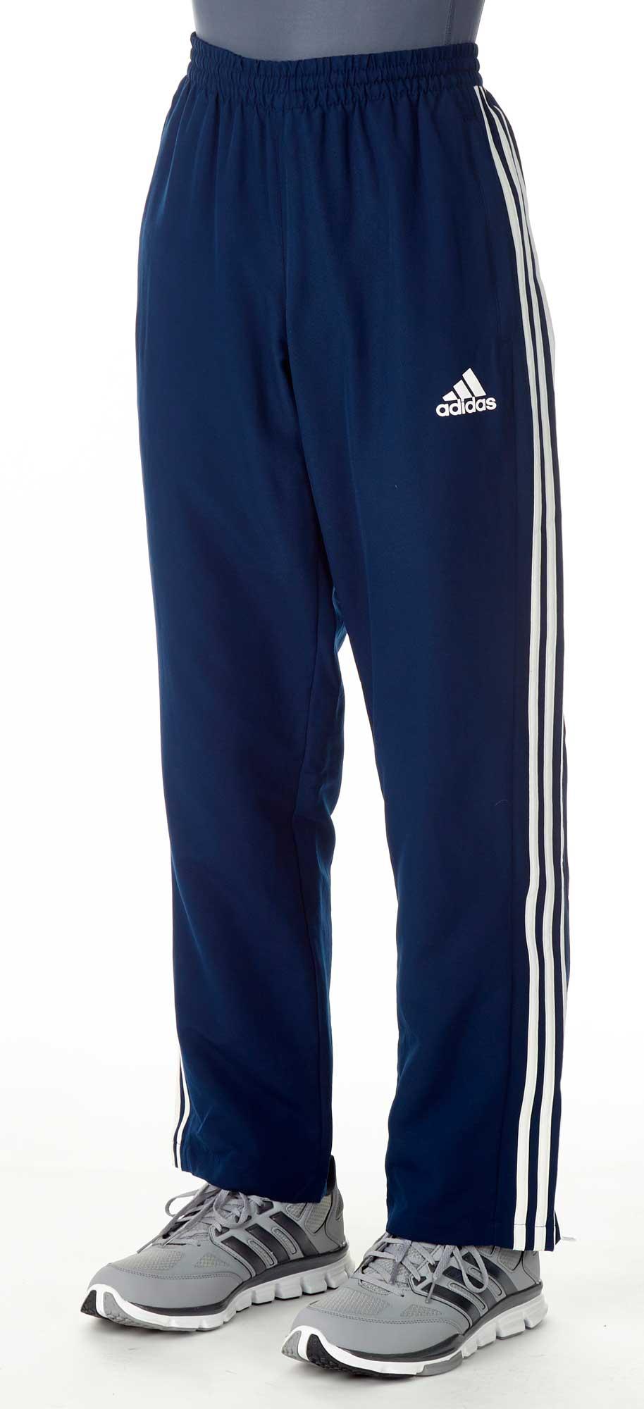 adidas T16 Team Hose Männer navy blau weiß, AJ5319