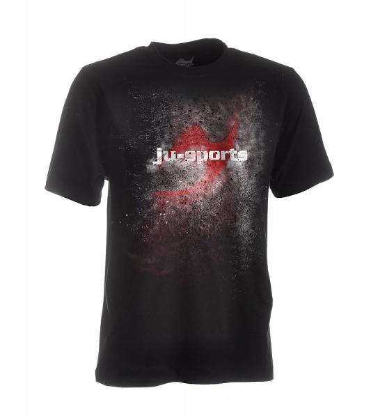 Dark-Line T-Shirt Jush Explosion schwarz-rot